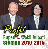 Profil Bupati dan Wakil Bupati sleman